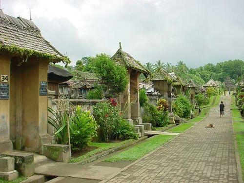 Балийско село