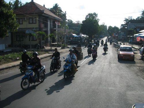Движението по улиците