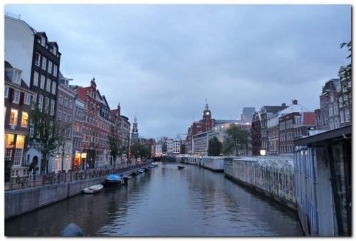 Амстердам, каналите
