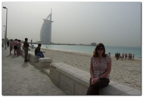 Бурж Ал Араб и плажът Джумейра