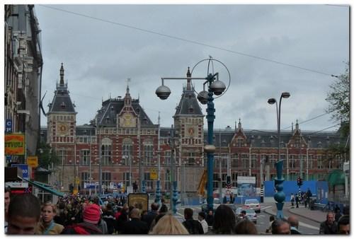 Амстердам, централната гара