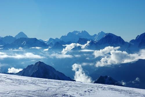 Сутрешни мъгли над Кавказ