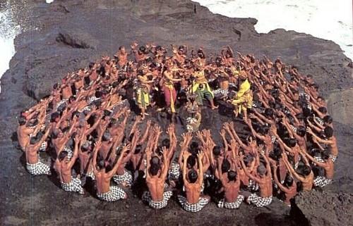 Балийски ритуален танц