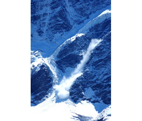Лавина под връх Накратау