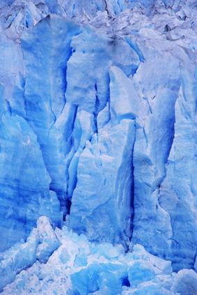 Детайл от ледника