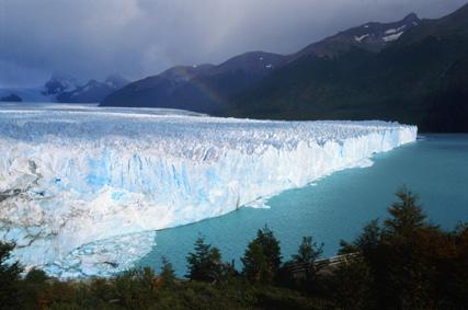 Общ изглед към ледника