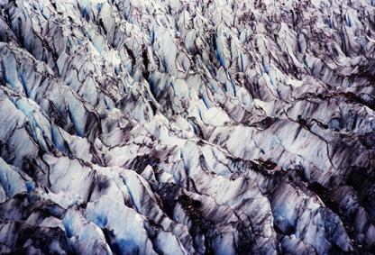 Ледникът, от птичи поглед