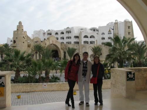 Хотелът в Тунис