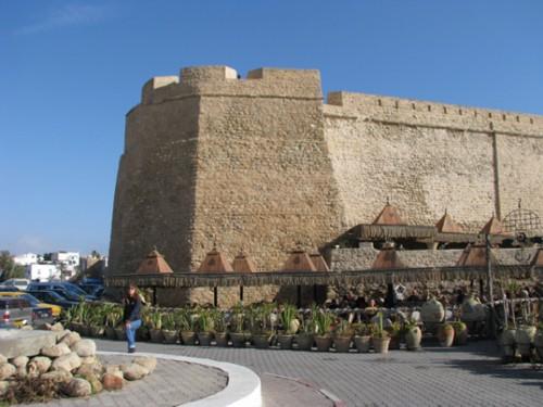 Крепостта в Хамамет