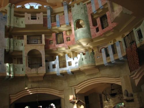Хотелът, интериор
