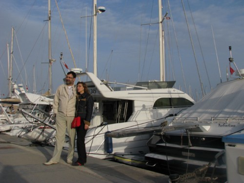 Хамамет, пристанището