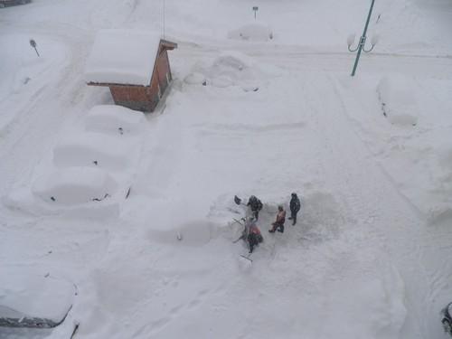 Преспите сняг