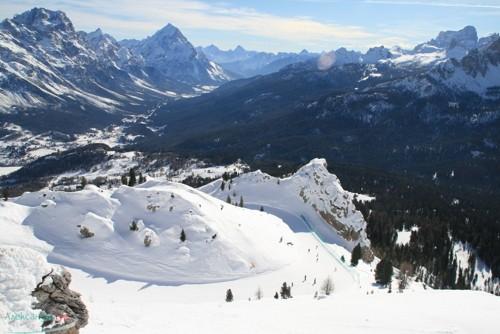 Алпите, Доломитите, обезопасяването на пистите