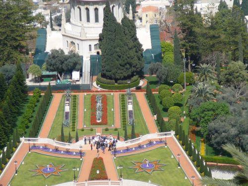 Хайфа, градините