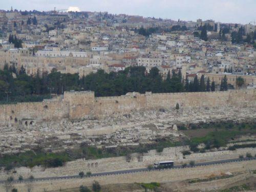 Йерусалим- крепостните стени