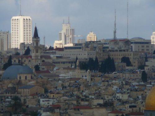 Йерусалим - изглед от хълма