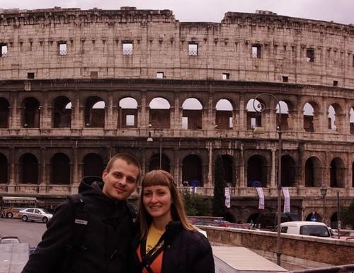 Пред Колизеума