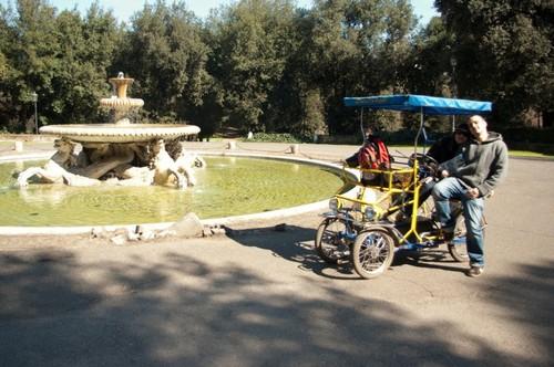 Направо бях като Фитипалди с тази рикша!