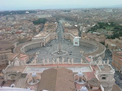 Свети Петър от върха на Базиликата