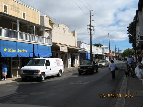 Лахаина.Главната улица