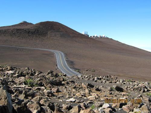 На самия връх на планината е обсерваторията