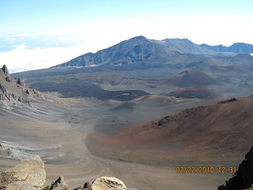 Многобройните кратери на Халеакала