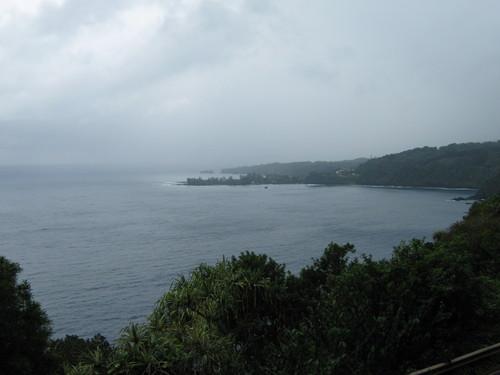 Откритият океан край Хана