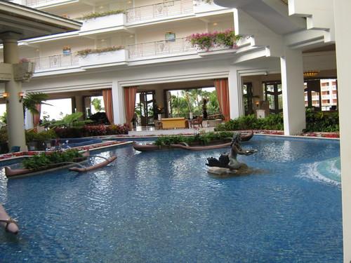 Лобито в един от луксозните хотели