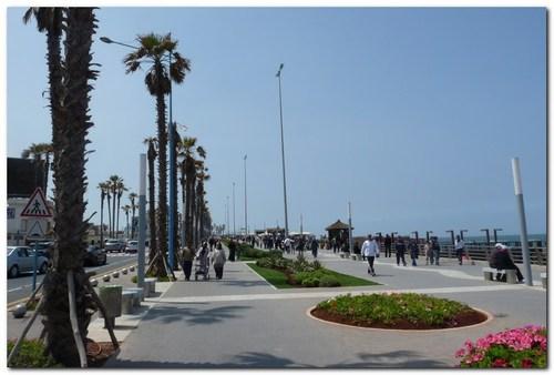 Казабланка, крайбрежния булевард
