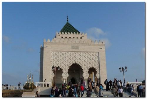 Рабат, мавзолей на Мохамед V