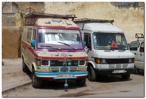Мароко, автобус