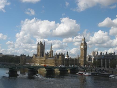 Лондон, сниман от Лондонското око – Англия – Лондон