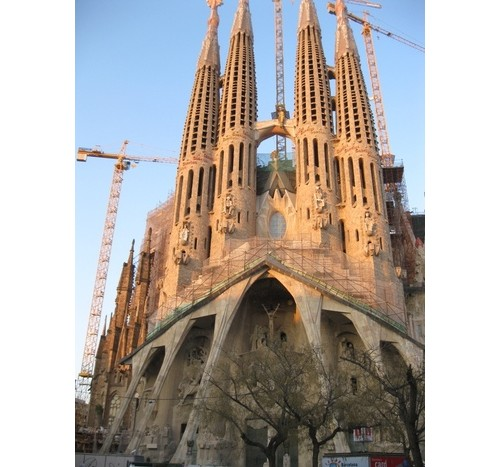 Саграда Фамилия – Испания – Барселона