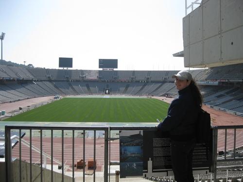 Стадионът, където преди са се провеждали Олимпийските игри – Испания – Барселона