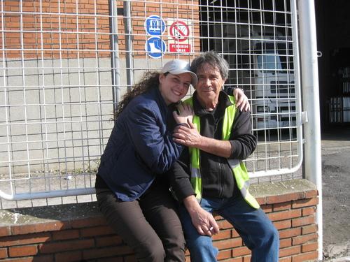 С тати в индустриалната зона на Барселона – Испания