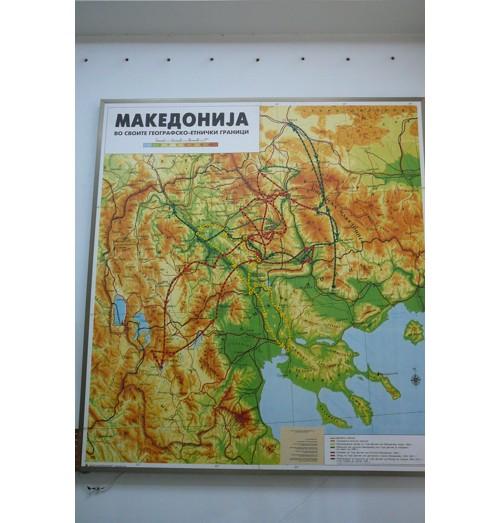 Карта на Македония