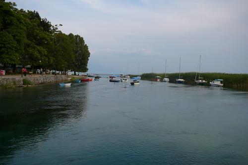 Охридското езеро при Струга