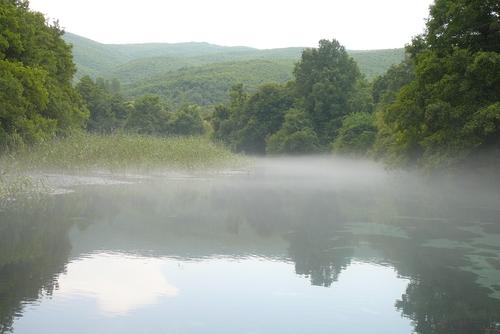 Когато ще вали, над изворите се стеле мъгла