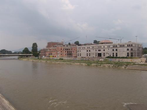 В далечината е Скопското кале