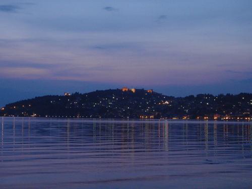 Охрид вечер