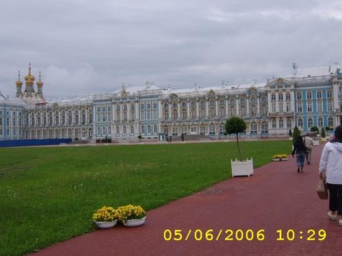 Екатерининският дворец, Царское село