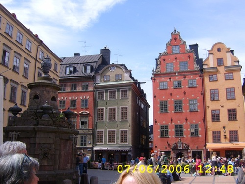 Старият град в Стокхолм
