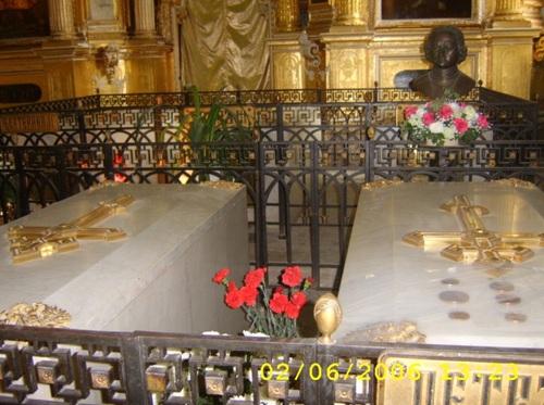 Саркофаг на Петър I