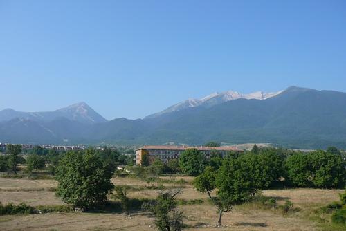 Изглед към Пирин- Вихрен, Тодорка от Банско