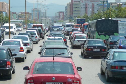 Движението в Тирана