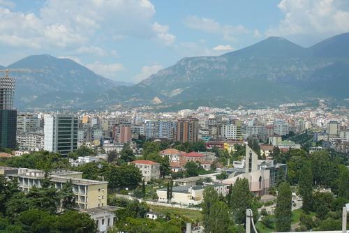 Цветовете на Тирана