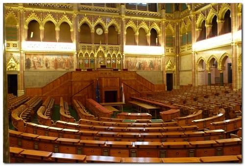 Парламента, интериор