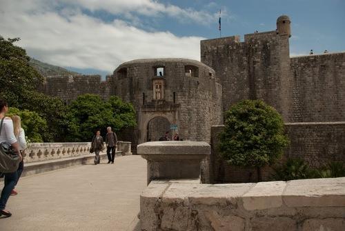 Входът към стария град