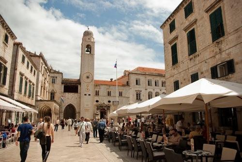 Централната част на Дубровник