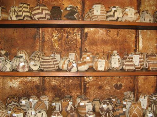 Традиционни за Ботсвана плетени кошници
